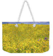 Weekender Tote Bag featuring the photograph Golden Hillside by Marc Crumpler