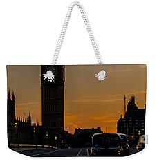 Golden Hour Big Ben In London Weekender Tote Bag
