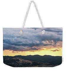 Golden Hour In Volterra Weekender Tote Bag