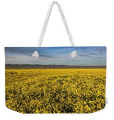 Golden Hour On The Plain Weekender Tote Bag