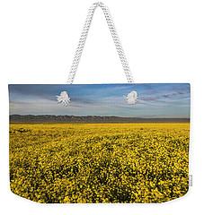 Golden Hour On The Plain Weekender Tote Bag
