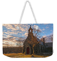Golden Hour Prayer Service Weekender Tote Bag
