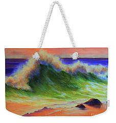 Golden Hour Sea Weekender Tote Bag