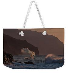Golden Hour Wave Weekender Tote Bag