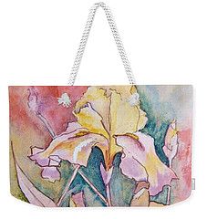 Golden Iris Weekender Tote Bag