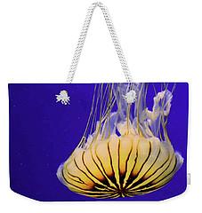Golden Jellyfish Weekender Tote Bag