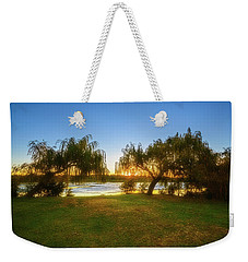 Weekender Tote Bag featuring the photograph Golden Lake, Yanchep National Park by Dave Catley