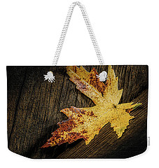 Golden Leaf Weekender Tote Bag