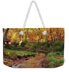Golden Leaves Of Autumn Weekender Tote Bag