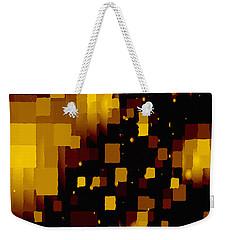 Golden Light And Dark  Weekender Tote Bag