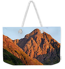Golden Light Hits Bidean Nam Bian Weekender Tote Bag