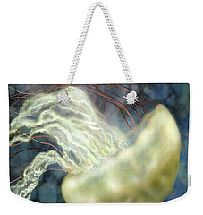 Golden Light Jellyfish Weekender Tote Bag