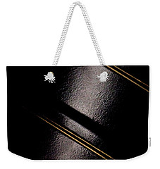 Weekender Tote Bag featuring the photograph Golden Line by Paul Job