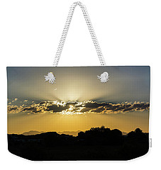 Golden Lining Weekender Tote Bag