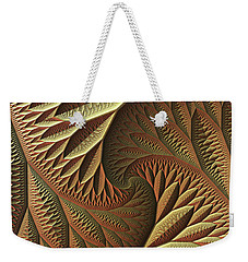 Golden Weekender Tote Bag by Lyle Hatch