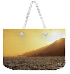 Golden Malibu Weekender Tote Bag