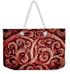 Golden Metalwork Weekender Tote Bag