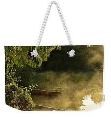 Golden Mist At Knife Lake Weekender Tote Bag