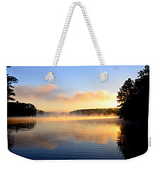 Golden Mist Weekender Tote Bag