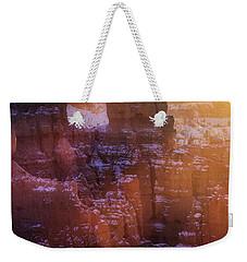 Golden Moment Weekender Tote Bag