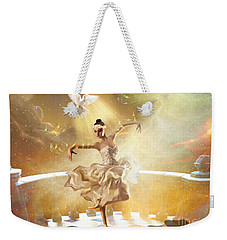 Golden Moments Weekender Tote Bag