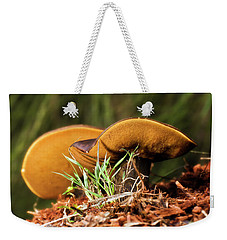 Golden Mushrooms 001 Weekender Tote Bag