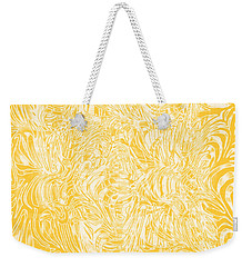 Weekender Tote Bag featuring the photograph Golden by Nareeta Martin