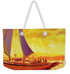 Golden Opportunity Weekender Tote Bag