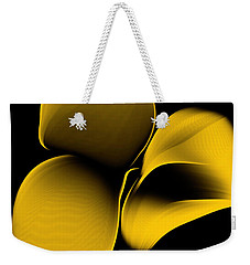Golden Pantomime Weekender Tote Bag
