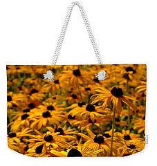 Golden Parasols Weekender Tote Bag