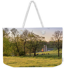 Golden Pastures Weekender Tote Bag