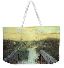 Golden Pathway Weekender Tote Bag