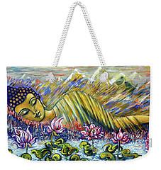 Golden Peace Weekender Tote Bag