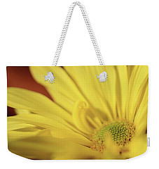 Golden Petals Weekender Tote Bag