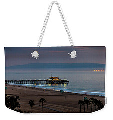 Golden Pier Weekender Tote Bag