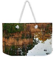 Golden Pond Weekender Tote Bag by Lori Mellen-Pagliaro