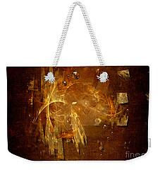 Golden Rain Weekender Tote Bag