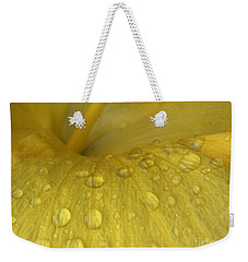 Golden Rain Drops  Weekender Tote Bag