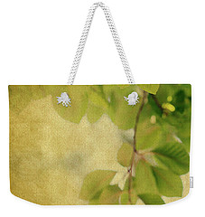Weekender Tote Bag featuring the photograph Golden by Rebecca Cozart