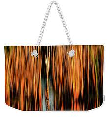 Golden Reeds Weekender Tote Bag