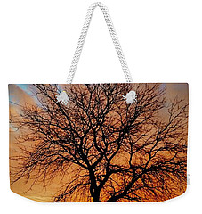 Golden Reflection Weekender Tote Bag