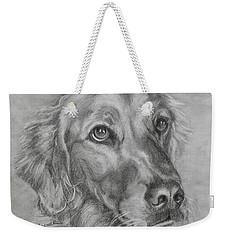 Golden Retriever Drawing Weekender Tote Bag