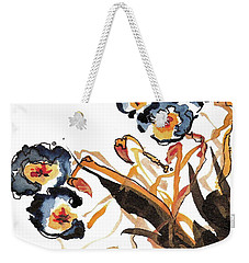 Golden Rods Dancing Weekender Tote Bag