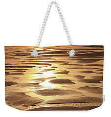 Weekender Tote Bag featuring the photograph Golden Sands by Roupen  Baker