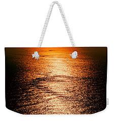 Golden Sea In Alanya Weekender Tote Bag