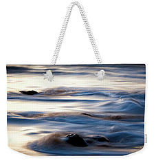 Golden Serenity Weekender Tote Bag