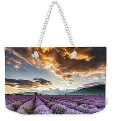 Golden Sky, Violet Earth Weekender Tote Bag