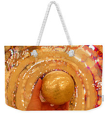 Golden Sphere Weekender Tote Bag