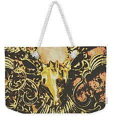 Golden Stag Weekender Tote Bag