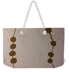 Golden Stars Weekender Tote Bag